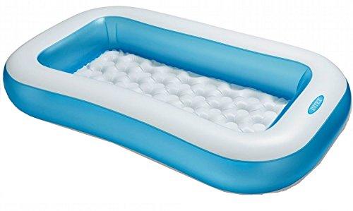 Aufstellpool Babypool Pool Planschbecken Kinderpool Kinderplanschbecken Schwimmbecken für Baby-s Kind-er Terrasse Balkon Garten Größe ca. 166 x 100 x 28 cm