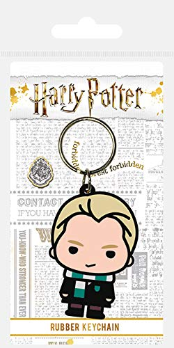 Wizarding World Harry Potter-Draco Malfoy Chibi - Llavero de goma, mul