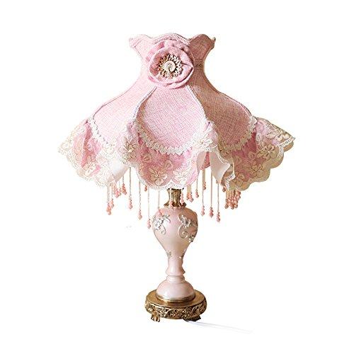 Tischlampe TCFWUSTD Kreative Lampe der rustikalen Lampe Schlafzimmertischlampe -