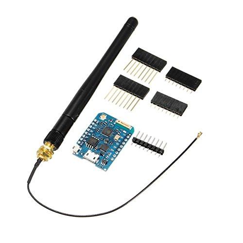 Ils - D1 Mini Pro-16 Modul + Esp8266 Serie WiFi Drahtlose Antenne D1 Mini