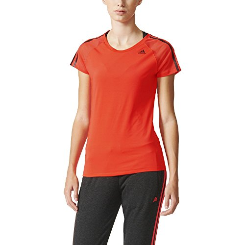 adidas Athletic Tee T-Shirt Femme Rouge