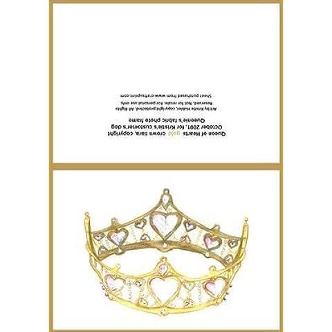 Corona-tiara da regina di cuori, art originale by Kristie Hubler by Kristie Hubler Lynn - Tiara Kit Craft