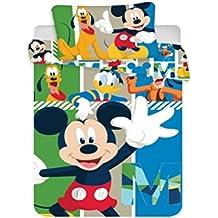 Amazonfr Housse De Couette Mickey Multicolore