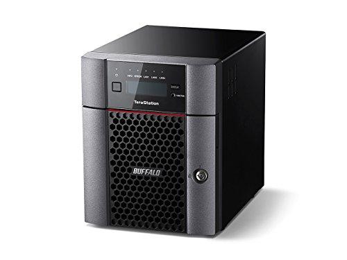 Buffalo TeraStation TS5410DN0802-EU Desktop NAS, 8 TB teilbestückt (inklusive 2 x 4 TB NAS HDDs)