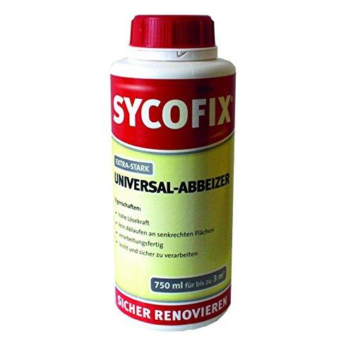 SYCOFIX - UNIVERSAL - Abbeizer - Extra-Stark - 750ml-Dose, Grundpreis 13,32 Euro/Liter