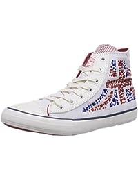 Pepe Jeans London INDUSTRY STUDS - zapatillas deportivas altas de lona niña