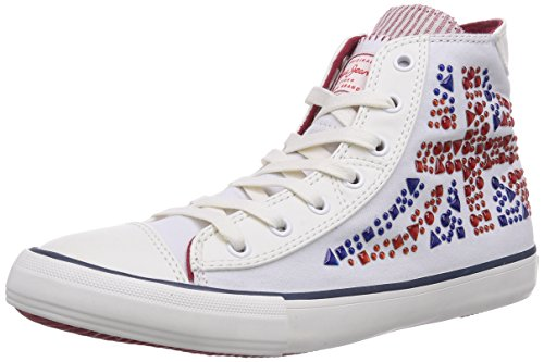 Pepe Jeans Industry Studs, Baskets hautes fille