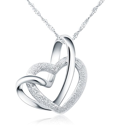 forfamilyltd-genuine-925-sterling-silver-a-lifetime-loving-you-interlocking-heart-pendant-necklace-w