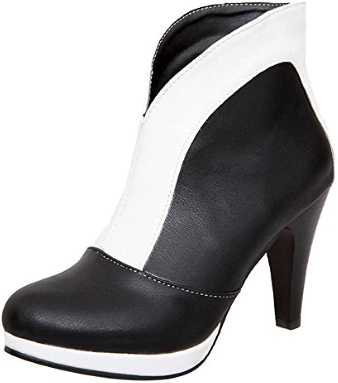 JOJONUNU Mujer Tacon Alto Botas - Zapatos de moda en línea Obtenga el mejor descuento de venta caliente-Descuento más grande