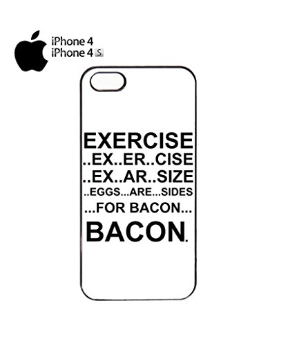 Eggs are Sides for Bacon Mobile Cell Phone Case Cover iPhone 5c Black Noir