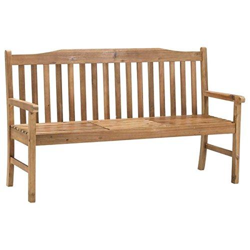 Gartenbank Holz braun OUTLIV. Sydney 3-Sitzerbank 150cm Akazie FSC Sitzbank Gartenmöbel - 2