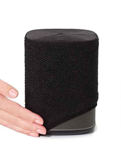 Soundskins - für Sonos Play 1 - Textilbespannung - Holzkohle-Schwarz