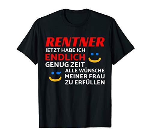 Herren Rentner Pensionierung Renteneintritt T-Shirt Rente Ruhestand