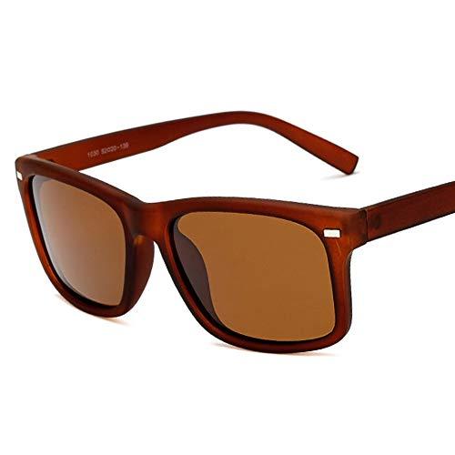 EDSWXT Schutzbrillen Polarisierte Radfahren Brille Brillen Fahrrad Reiten Schutzbrille Fahren Wandern Sport Sonnenbrillen, Braune Linse