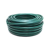 Elito Home & Garden Hose 100m Reinforced Tough No Kink Reel Pipe Water Soaker Hose (100M, Green)