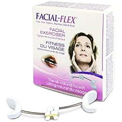 Facial-Flex® Lifting du Visage (Nouvelle Packaging 2018) Vendu avec 10 élastiques N°1 et N°2