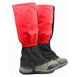 41HVeMWDrPL. SS300  - Blancho Outdoor Waterproof Hiking Gaiters Snow Boot Gaiters Winter Leg Gaiters 17.7''