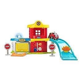 Chicco Garage Stop&Go Set Elettronico con Macchine