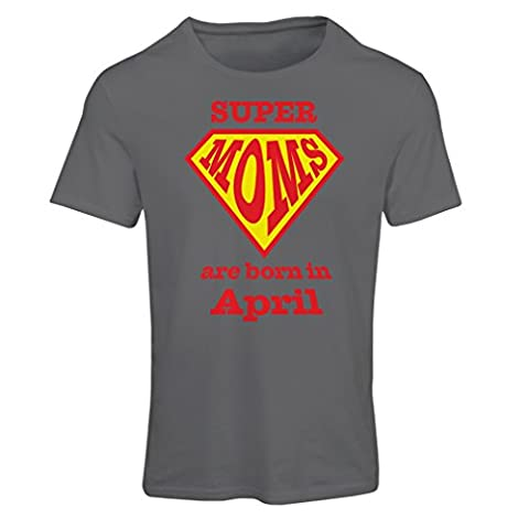"T shirts for women Hand printed design saying "" SUPER"