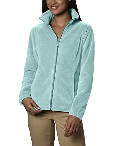 Columbia Women's Benton Springs Full Zip Fleece Jacket, Wind, M (Gelb Columbia Fleece-jacke,)