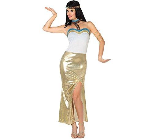 Zzcostumes Atosa Goldenes ägyptisches Pharao-Kostüm für Eine ()