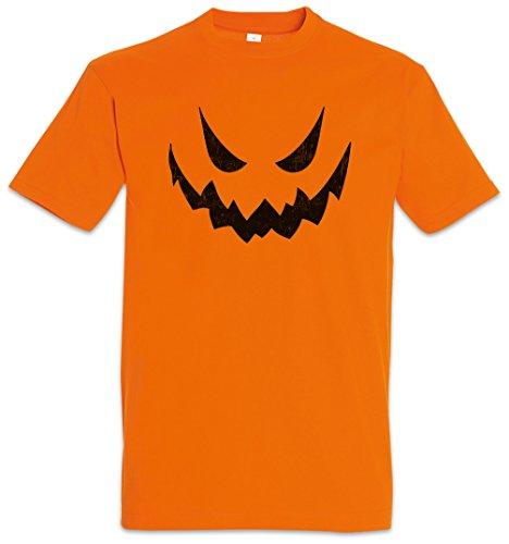 Glowing Halloween Pumpkin II T-Shirt - Größen S - 3XL