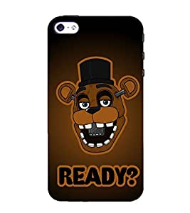 99Sublimation Cartoon Asking Ready 3D Hard Polycarbonate Back Case Cover for Apple iPhone 5S