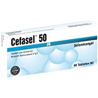 Cefasel 50 [my]g Tabletten 60 stk preisvergleich bei billige-tabletten.eu