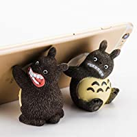 Unionup Simulated Pig Cat Animal Phone Bracket Mobile Phones holder Home Decoration Crafts Gifts Sucker Toy (Cat)