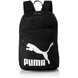 Puma Originals Backpack Mochilla, Unisex Adulto, Black, OSFA