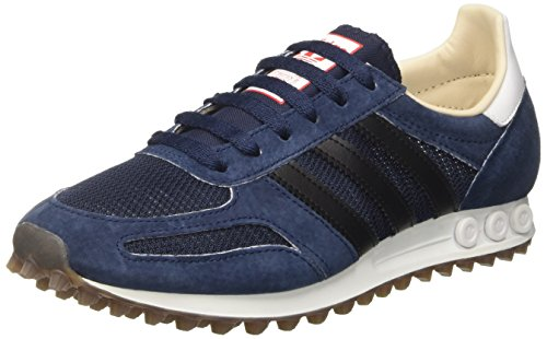 adidas Herren La Trainer Og Sneakers, Blau (Collegiate Navy/Core Black/Gum), 40 2/3 EU -
