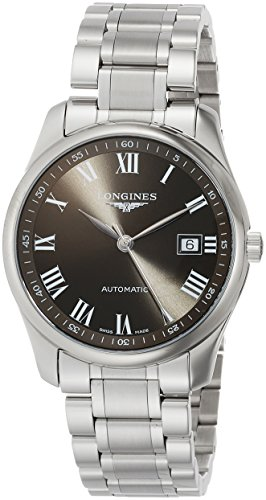 Longines Watch Master Collection - Reloj automático (40 mm), color gris