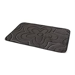 Waterproof Non-slip Mats Simple Cobblestone Carpet Mattresses Kitchen Mats Bathroom Mats ( Color : Brown )
