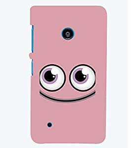 PRINTSWAG SMILEY Designer Back Cover Case for NOKIA LUMIA 530