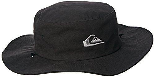 Quiksilver Herren Hat Bushmaster, Black, S/M, AQYHA03314 (Bushmaster)
