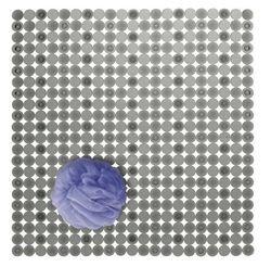 mDesign Duschmatte aus PVC-Kunststoff – rechteckige Badematte rutschfest mit Saugnäpfen – moderne Badmatte für Dusche und Badewanne – graphitgrau