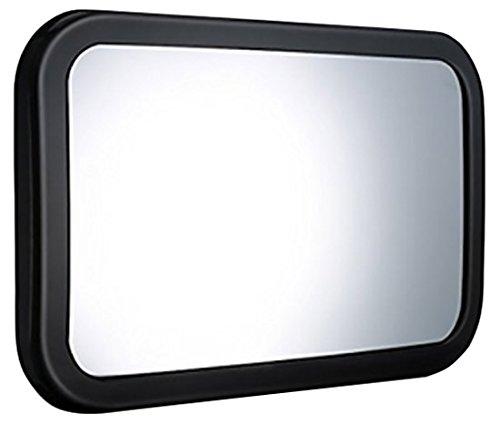 TopElek GDDEGECA023AB-1 Spiegel Auto Baby 30 x 19 cm (11,8 x 7,5 Zoll) schwarz
