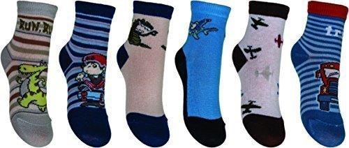 chaussettes-pour-enfants-garcons-chaussettes-courtes-yoscorpio-6-paires-skc-sta-mix1-bariole-20-22