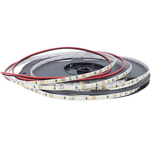 iluminize LED-Streifen Mikro: sehr hochwertiger Mikro LED-Streifen, nur 5 mm breit, 120 LEDs/m, hoch selektiert, 12V, 9,6W/m, 5 m auf Rolle (2700K Ra 80 IP33)