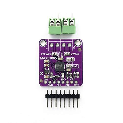 Elviray Max31865 Rtd Temperatur Thermoelement Sensor Verstärker Modul für Arduino -