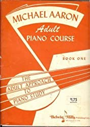 MICHAEL AARON ADULT PIANO COURSE BOOK ONE