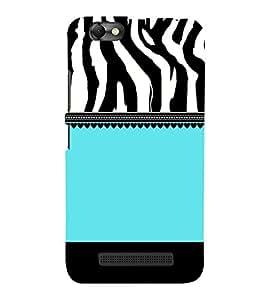 Tiger Pattern Design 3D Hard Polycarbonate Designer Back Case Cover for Lenovo Vibe C