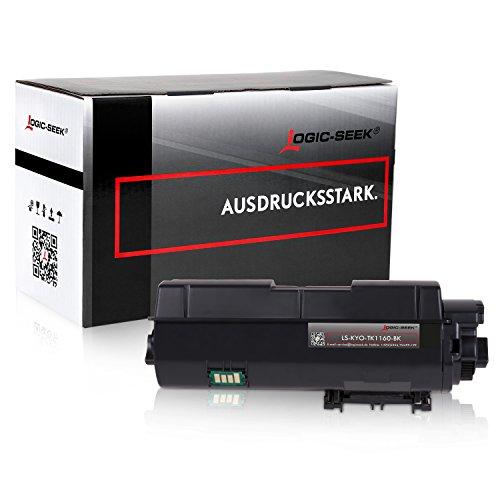 Preisvergleich Produktbild Logic-Seek Toner Kompatibel zu Kyocera TK-1160 für Kyocera Ecosys P2050DN P2040DW - 7.200 Seiten