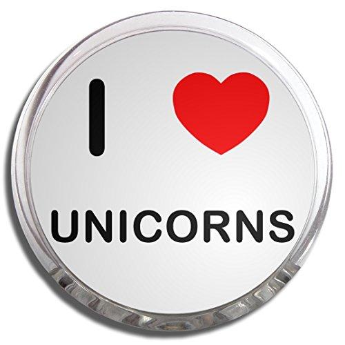I Love Unicorns - Memo Clip Magnete Frigo