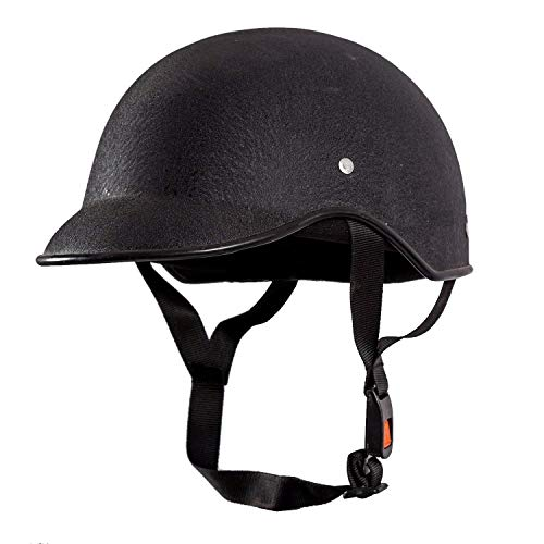 True Desire All Purpose Safety Helmet with Strap for Bikes (Black, Free Size)