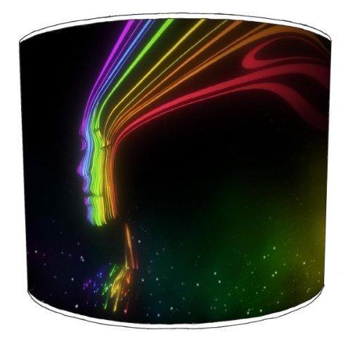 Premier Lampshades-Soffitto Visual spettro astratto paralumi, 30,5