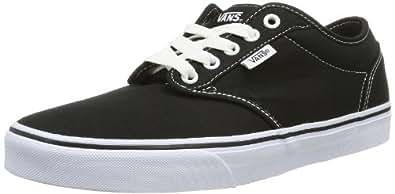 W ATWOOD VNJO187, Sneaker donna, Nero (Noir (Black/White)), 40.5 Vans