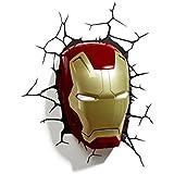 3DlightFX Iron Man Mask 3D Deco Light