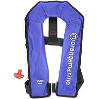 ORANGEMARINE Gilet de sauvetage gonflable manuel sans harnais 150 N