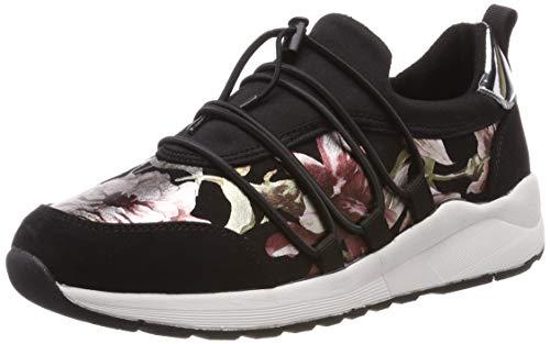 s.Oliver Damen 5-5-23616-22 098 Sneaker, Black Comb, 40 EU